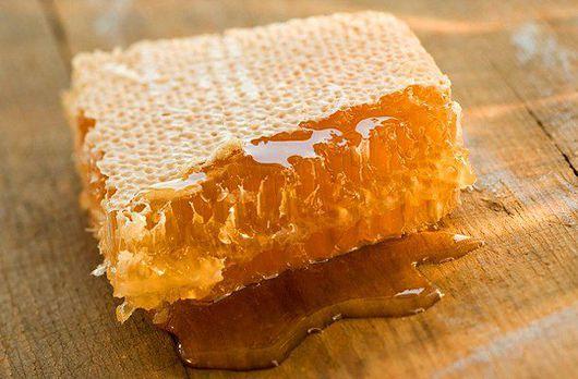 Мёд сотовый колодный