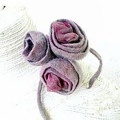 """Украшения ручной работы. Ярмарка Мастеров - ручная работа Брошь """"Пыльная роза"""". Handmade."""