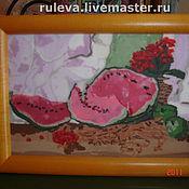 """Картины и панно ручной работы. Ярмарка Мастеров - ручная работа картина """"арбузы"""". Handmade."""