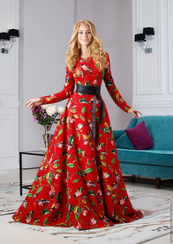 Фото длинные платье 2017-2018