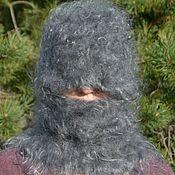 Аксессуары handmade. Livemaster - original item Balaclava Hat knitted downy