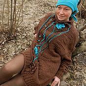 """Одежда ручной работы. Ярмарка Мастеров - ручная работа """"ИСТОКИ"""" Норо свитер. Handmade."""