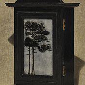 Для дома и интерьера ручной работы. Ярмарка Мастеров - ручная работа Ключница в стиле модерн(ручная роспись). Handmade.