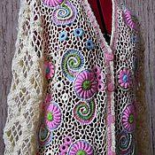 """Одежда ручной работы. Ярмарка Мастеров - ручная работа Жакет """"Нежный"""". Handmade."""