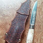 Сувениры и подарки handmade. Livemaster - original item Knife Rusich with kresala. Handmade.