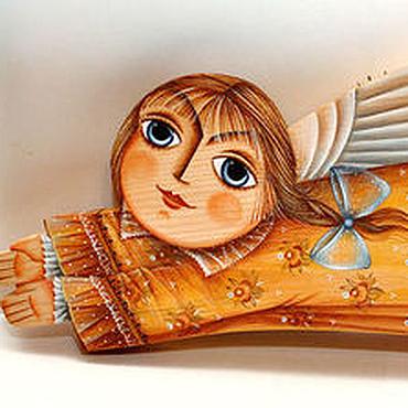 """Куклы и игрушки ручной работы. Ярмарка Мастеров - ручная работа Ангел """"Солнечный"""". Handmade."""