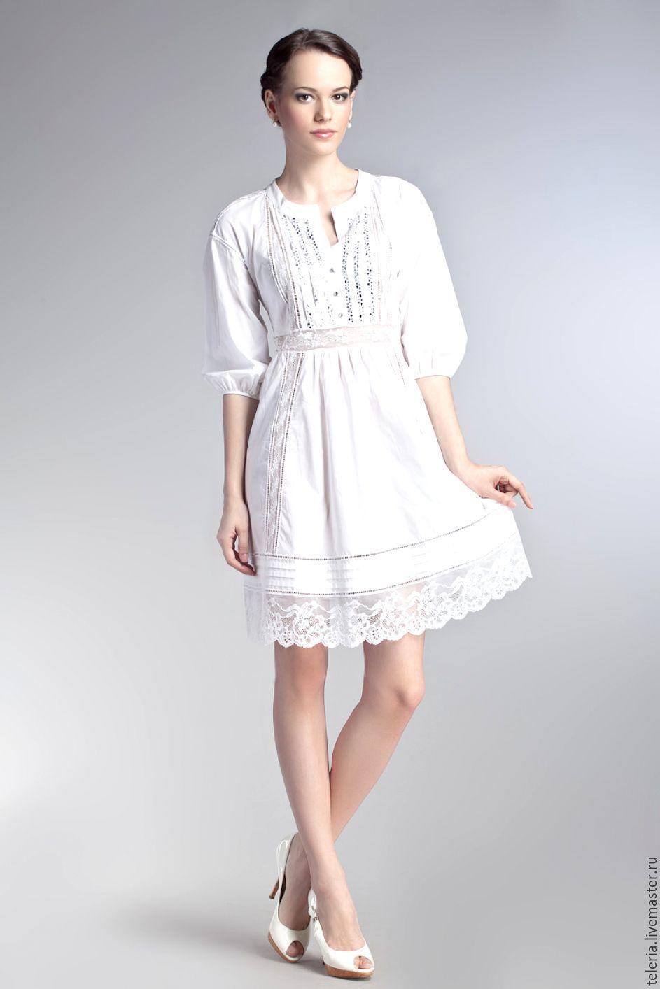 Женские платья из хлопка