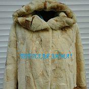 Одежда handmade. Livemaster - original item Fur coat natural fur nutria (bulk). Handmade.