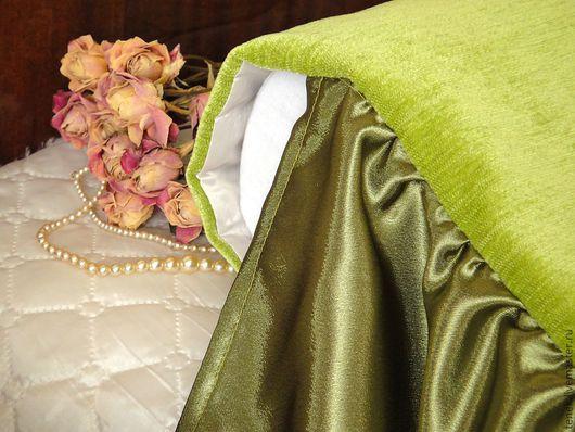 Текстиль, ковры ручной работы. Ярмарка Мастеров - ручная работа. Купить Покрывало на кровать с подворотом Свежее утро Большое покрывало. Handmade.