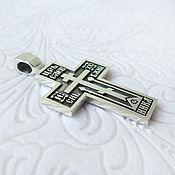 Русский стиль handmade. Livemaster - original item Old believer cross. 925 sterling silver. Handmade.