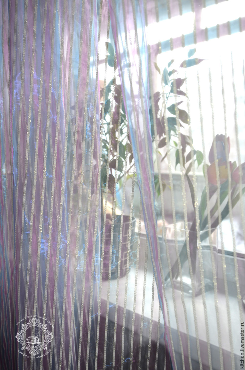 Tulle Strips, Curtains1, Moscow,  Фото №1