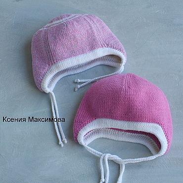Одежда ручной работы. Ярмарка Мастеров - ручная работа Шапка двойная из мериноса. Handmade.