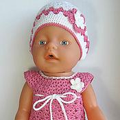 Куклы и игрушки ручной работы. Ярмарка Мастеров - ручная работа Летний комплект для BABY born. Handmade.