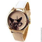 Украшения ручной работы. Ярмарка Мастеров - ручная работа Дизайнерские наручные часы Chihuahua Glam. Handmade.