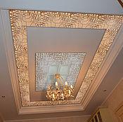 Дизайн и реклама handmade. Livemaster - original item The ceiling decor 3D panels from plaster. Handmade.