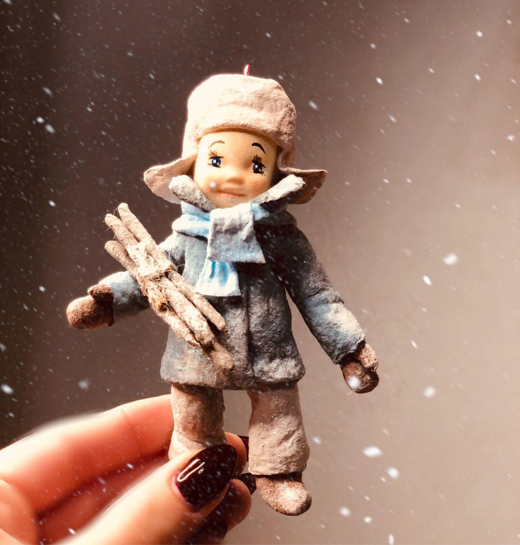 Ватная елочная игрушка, Куклы и пупсы, Москва,  Фото №1