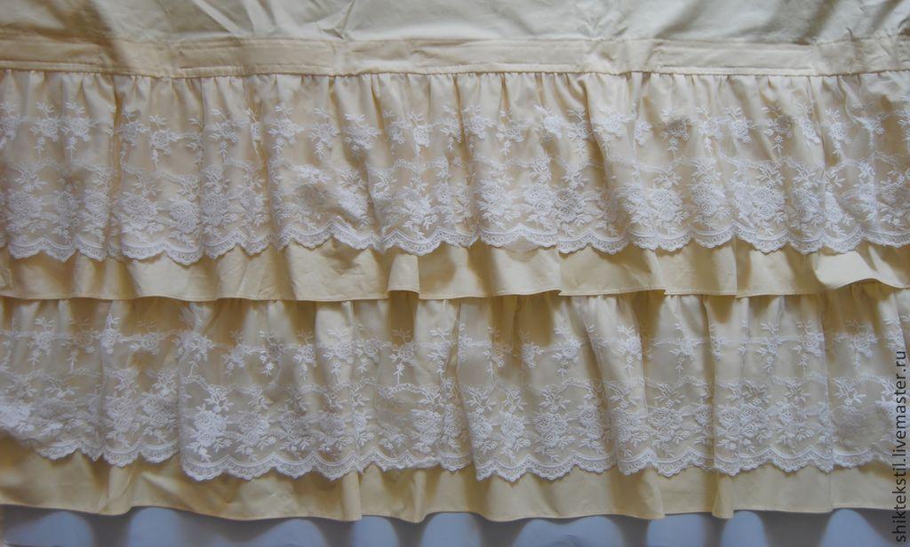 Сшить юбку на кровать