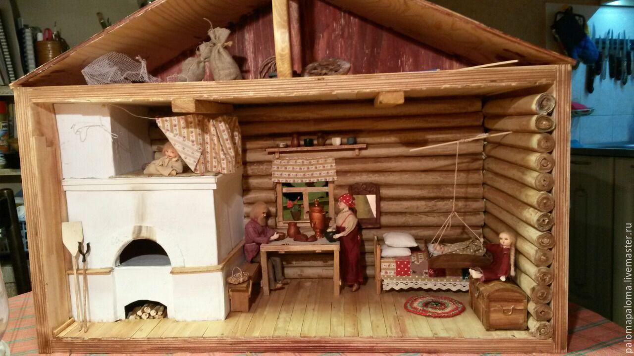Печка для кукольного домика своими руками 19