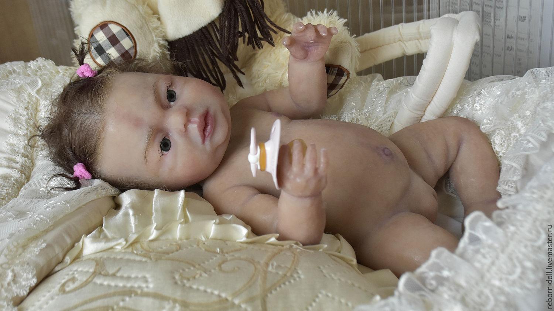 кукла реборн силиконовая девочка купить