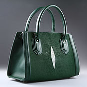 Сумки и аксессуары handmade. Livemaster - original item Sea Stingray leather bag IMC0539G. Handmade.