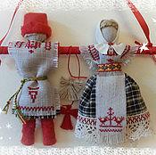 Куклы и игрушки ручной работы. Ярмарка Мастеров - ручная работа НЕРАЗЛУЧНИКИ  кукла свадебная обрядовая. Handmade.