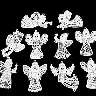Подарки к праздникам handmade. Livemaster - original item Angels set. Handmade.