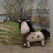 Куклы и игрушки ручной работы. Ярмарка Мастеров - ручная работа Добрая лошадка. Handmade.