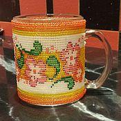 Для дома и интерьера ручной работы. Ярмарка Мастеров - ручная работа сувенирная кружка. Handmade.