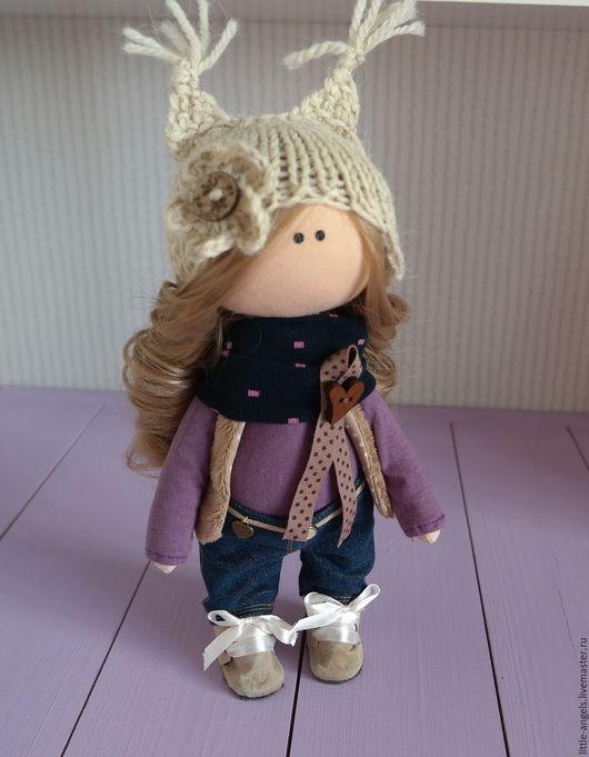 Куклы тыквоголовки ручной работы. Ярмарка Мастеров - ручная работа. Купить Интерьерная текстильная кукла. Handmade. Разноцветный, кукла текстильная