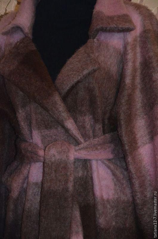 """Верхняя одежда ручной работы. Ярмарка Мастеров - ручная работа. Купить """"Caledonia"""" пальто ручной работы. Handmade. Комбинированный"""