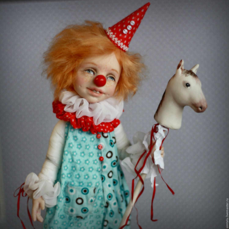 Клоун Пашка. Новый образ, Куклы и пупсы, Ижевск,  Фото №1