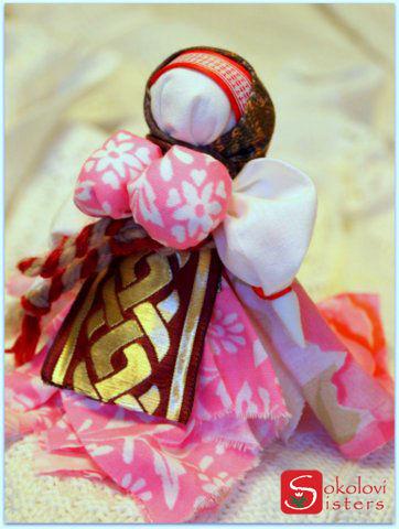 Народные куклы ручной работы. Ярмарка Мастеров - ручная работа. Купить Вепсская кукла. Handmade. Розовый, оригинальный подарок