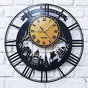 Для дома и интерьера handmade. Livemaster - original item Large wall clock made of metal