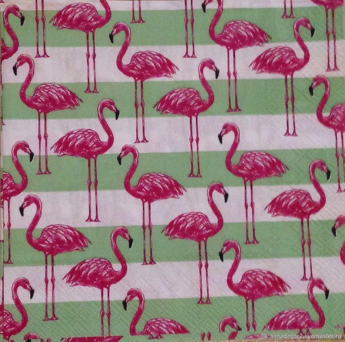 Decoupage Painting Handmade Livemaster 557 Napkin For Pink