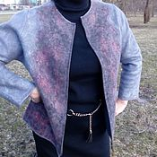Одежда handmade. Livemaster - original item Urban jacket floral coupon.. Handmade.