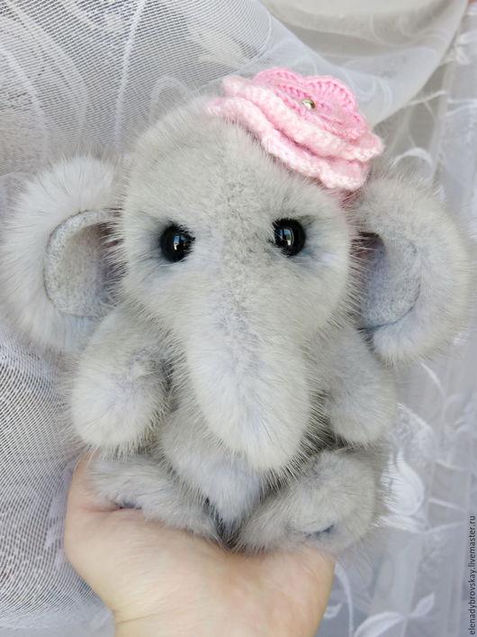 Мишки Тедди ручной работы. Ярмарка Мастеров - ручная работа. Купить Слоник Няшка. Handmade. Серый, слон, слон игрушка