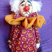 Куклы и игрушки ручной работы. Ярмарка Мастеров - ручная работа Очень грустный клоун. Handmade.