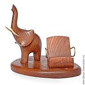 Сувениры и подарки ручной работы. Ярмарка Мастеров - ручная работа Подставка под смартфон Elephant. Handmade.