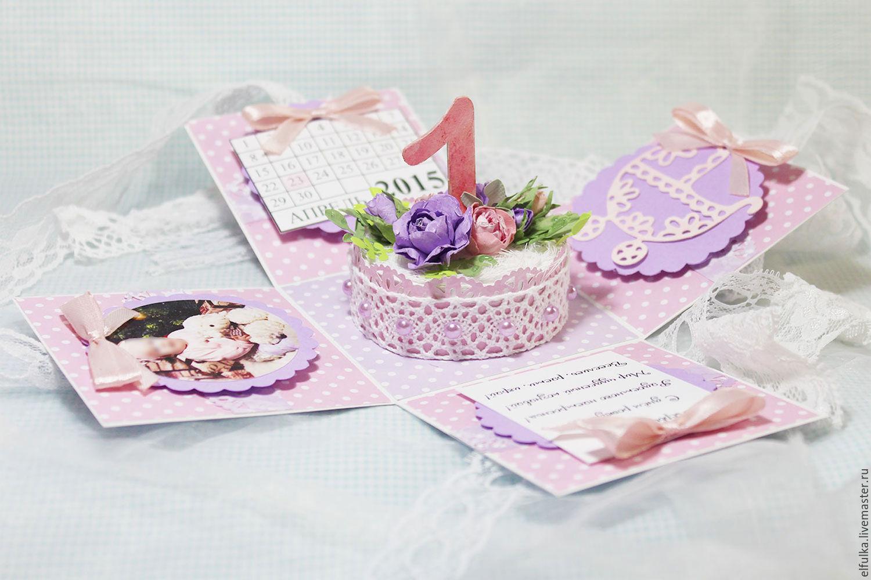 Скрапбукинг открытки коробочки мк с 517