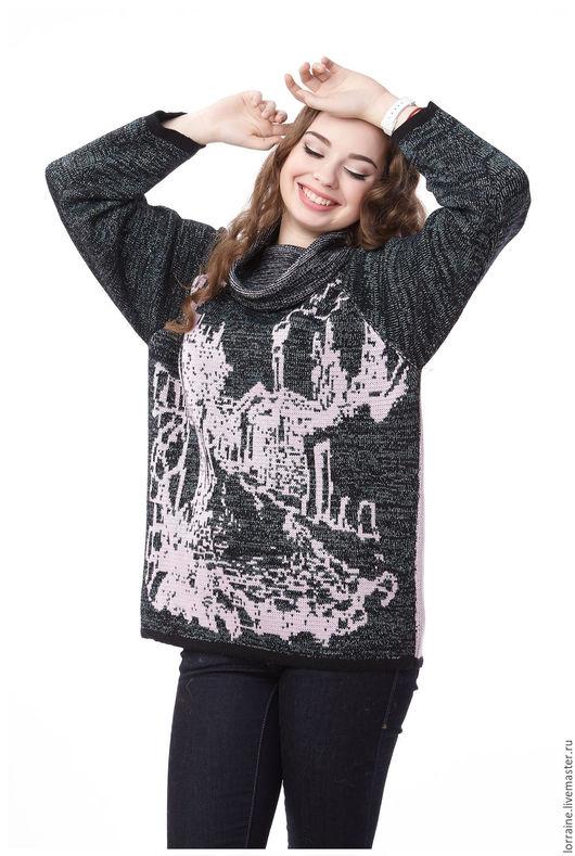 вязаный свитер, свитер вязаный, шерстяной свитер, свитер шерстяной, свитер из шерсти, свитер с горлом, трикотажный свитер, женский вязаный свитер, теплая одежда, мягкий свитер, вязаная одежда, город