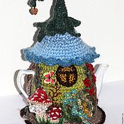 Для дома и интерьера ручной работы. Ярмарка Мастеров - ручная работа чайник с грелкой ТЕРЕМОК. Handmade.