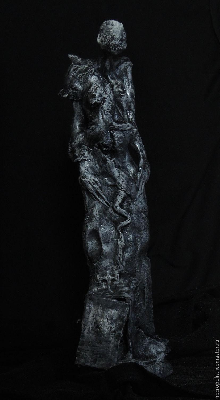 Готика ручной работы. Ярмарка Мастеров - ручная работа. Купить Necromant. Handmade. Темно-серый, статуэтка готическая, necromant