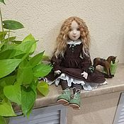 Dolls handmade. Livemaster - original item ESENIYA.Collectible Author`s Textile Doll.. Handmade.