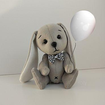 Куклы и игрушки ручной работы. Ярмарка Мастеров - ручная работа Игрушки: Серый зайчик. Handmade.