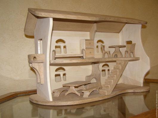 Кукольный дом ручной работы. Ярмарка Мастеров - ручная работа. Купить Кукольный домик. Handmade. Кукольный домик, игрушки из дерева