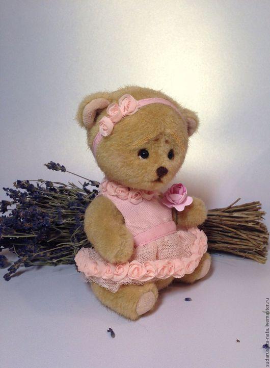 Мишки Тедди ручной работы. Ярмарка Мастеров - ручная работа. Купить Роуз. Handmade. Бежевый, ручная работа, шплинтовое соединение