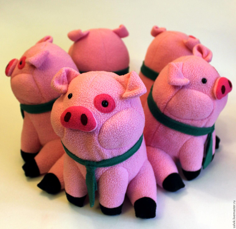 Игрушка свинка Пеппа своими 96
