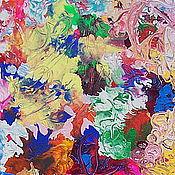 Картины и панно ручной работы. Ярмарка Мастеров - ручная работа Абстрактная живопись Фейерверк. Handmade.