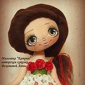 """Куклы и игрушки ручной работы. Ярмарка Мастеров - ручная работа Малышка """"Катрин"""". Handmade."""