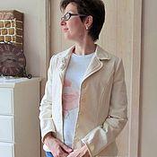 Одежда ручной работы. Ярмарка Мастеров - ручная работа Жакет альтернатива джинсовой куртке. Handmade.